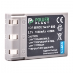 Аккумулятор PowerPlant Minolta NP-500, NP-600 1080mAh