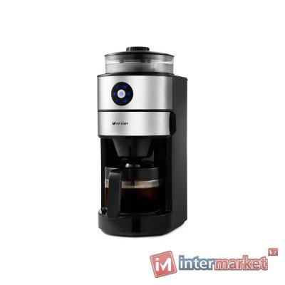 Кофемашина Kitfort KT-716 черный