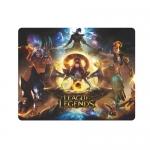 Коврик для компьютерной мыши X-game League Legends Чёрный