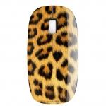 Мышь Delux DLM-111OUL 3D, (Молдинг, Леопард)