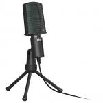 Настольный микрофон Ritmix RDM-126 черный-зеленый